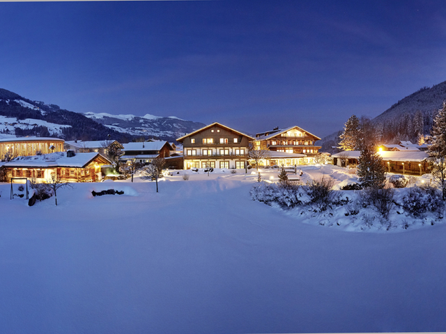 Wanderhotel Kirchner in Bramberg am Wildkogel im Winter
